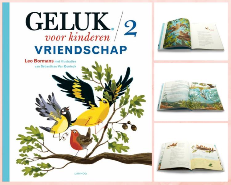 Screenshot boek Geluk voor kinderen - vriendschap