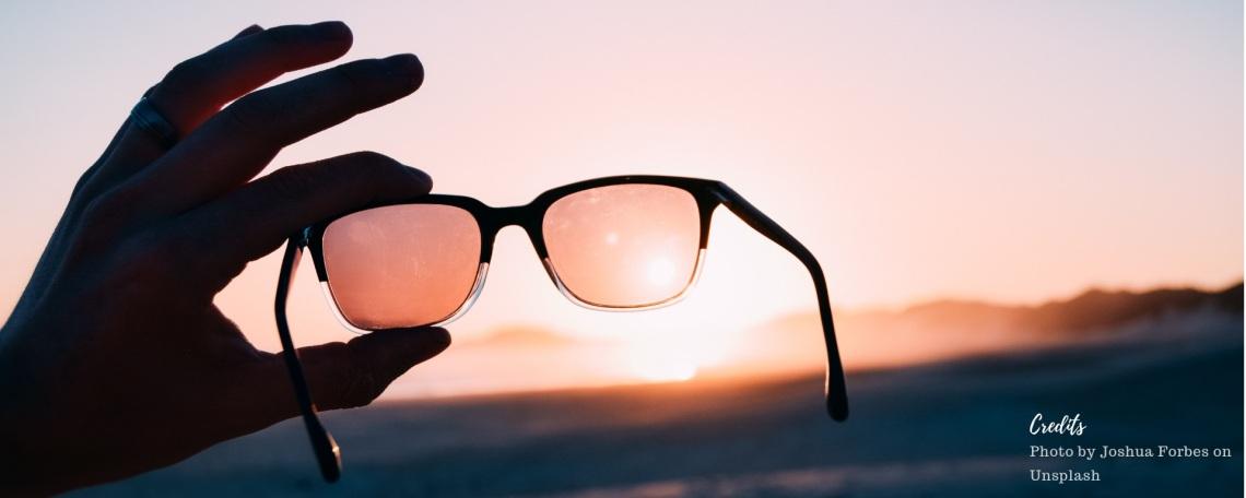 Photo of sunglasses by Joshua Forbes on Unsplash