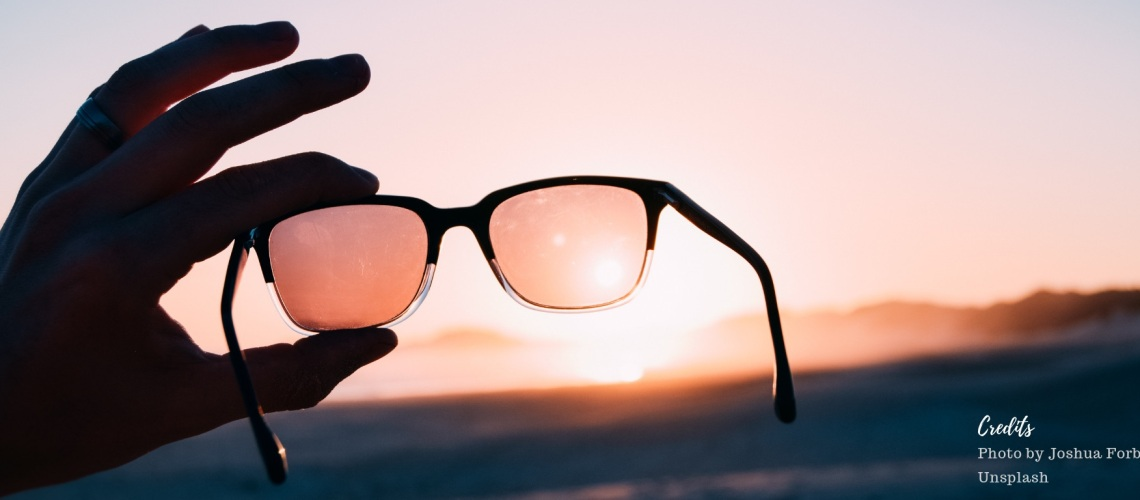 Photo of sunglasses by Joshua Forbes on Unsplash